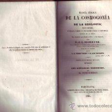 Libros antiguos: TEORÍA BÍBLICA DE LA COSMOGONÍA Y DE LA GEOLOGÍA. P. J. C. DEBREYNE.. Lote 27184136