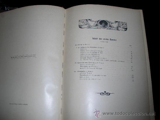 Libros antiguos: WELTALL UND MENSCHHEIT dedicado a la geología y volcanes. Enc. modernista - Foto 6 - 27445822