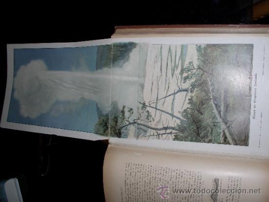 Libros antiguos: WELTALL UND MENSCHHEIT dedicado a la geología y volcanes. Enc. modernista - Foto 8 - 27445822
