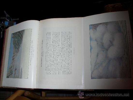 Libros antiguos: WELTALL UND MENSCHHEIT dedicado a la geología y volcanes. Enc. modernista - Foto 9 - 27445822