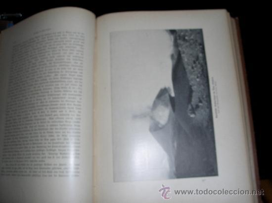 Libros antiguos: WELTALL UND MENSCHHEIT dedicado a la geología y volcanes. Enc. modernista - Foto 12 - 27445822