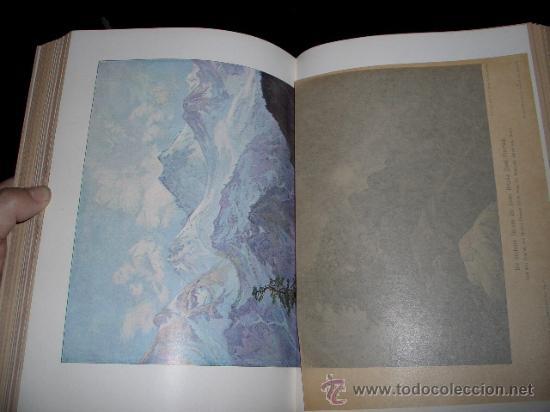 Libros antiguos: WELTALL UND MENSCHHEIT dedicado a la geología y volcanes. Enc. modernista - Foto 14 - 27445822