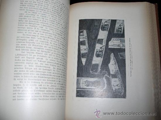 Libros antiguos: WELTALL UND MENSCHHEIT dedicado a la geología y volcanes. Enc. modernista - Foto 15 - 27445822