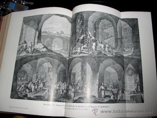 Libros antiguos: WELTALL UND MENSCHHEIT dedicado a la geología y volcanes. Enc. modernista - Foto 16 - 27445822