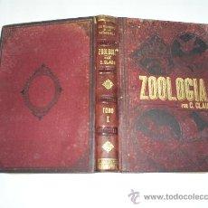 Libros antiguos: ZOOLOGÍA TOMO PRIMERO C. CLAUS IMPRENTA Y LITOGRAFÍA DE F. NACENTE 1890 RM40705. Lote 24418592