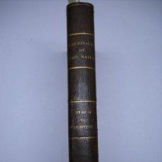 Libros antiguos: ALBUM DE CIENCIAS NATURALES.GRABADOS DE MARIPOSAS,INSECTOS,FLORES...103 LÁMINAS.HOLANDESA PIEL . Lote 25683685