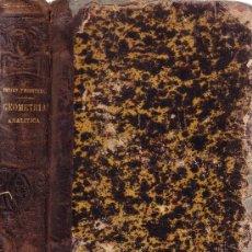 Libros antiguos: GEOMETRÍA ANALÍTICA - SONNET Y FRONTERA - MADRID EDITADO EN 1.885. Lote 26366721