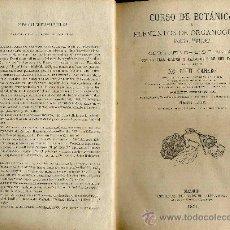 Libros antiguos: CURSO DE BOTÁNICA - 1871. Lote 25051797