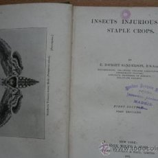 Old books - Insects injurious to stale crops. Sanderson (E.Edwight) - 25435259