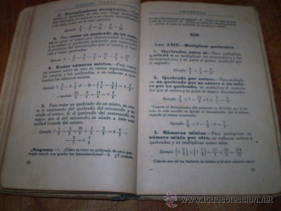 Libros antiguos: ARITMETICA POR EZEQUIEL SOLANA - Foto 4 - 27220943
