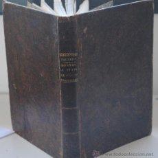 Libros antiguos: 1839.- MINERALOGIA. METALURGIA. PLATA. MEMORIA EN QUE SE TRATA ALGUNOS PUNTOS RELATIVOS AL SISTEMA. Lote 41068456