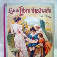 Libros antiguos: LIBRO, LIBRO ILUSTRADO PARA NIÑOS, KUNZLI HERMS EDITORES, 30 X 23 CM, 24 LAMINAS, BARCELONA. Lote 26361237