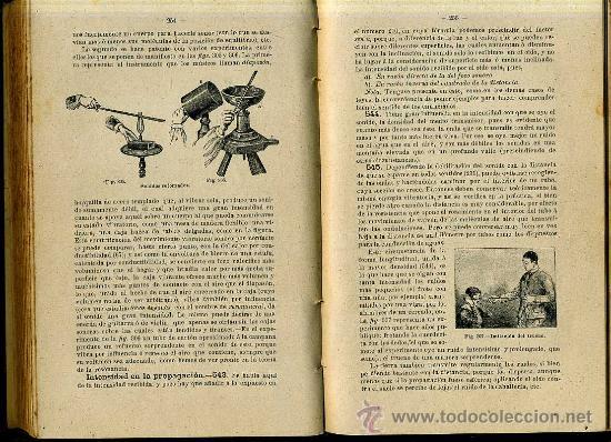 Libros antiguos: ESCRICHE : FÍSICA Y QUÍMICA (1898) - Foto 3 - 32026376