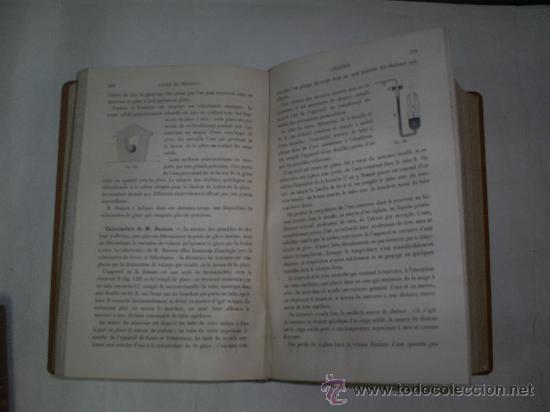 Libros antiguos: Cours Physique Comprenant les matières de Mathématiques Spéciales 3 Tomos 1883 - 1886 RM51057-V - Foto 7 - 27113569