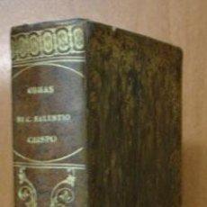 Libros antiguos: OBRAS DE CAYO SALUSTIO CRISPO. TRADUCCIÓN DE SEÑOR INFANTE D. GABRIEL. TOMO II. 1804.. Lote 27169856