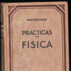 Libros antiguos: PRACTICAS DE FISICA A-FIS-066. Lote 27381473