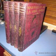 Libros antiguos: MARAVILLAS DE LA VIDA ANIMAL -4 TOMOS -COMPLETO Y POR J.A. HAMMERTON. Lote 27601834