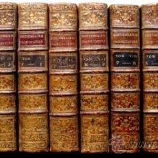 Libros antiguos: CURSO COMPLETO DE AGRICULTURA EN FRANCES AÑO 1781 CON PRIVILEGIO REAL. Lote 28567891