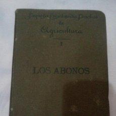Libros antiguos: PEQUEÑA ENCICLOPEDIA PRACTICA - LOS ABONOS - FELIX LEGRAND - TRADUCIDO POR PEDRO UGUET - 1899. Lote 28582520