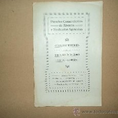 Libros antiguos: INSTRUCCIONES PREPARACIÓN DE ABONOS.. Lote 28671941