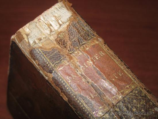 Libros antiguos: Le jardinier fleuriste, Liger, 1787. Contine 12 grabados desplegables. - Foto 4 - 29413500
