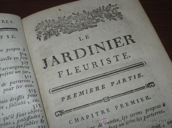 Libros antiguos: Le jardinier fleuriste, Liger, 1787. Contine 12 grabados desplegables. - Foto 8 - 29413500