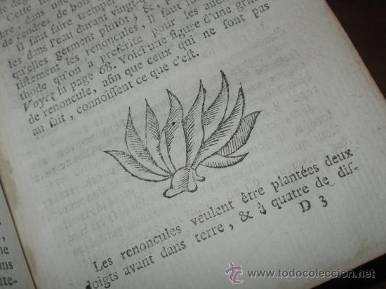Libros antiguos: Le jardinier fleuriste, Liger, 1787. Contine 12 grabados desplegables. - Foto 12 - 29413500