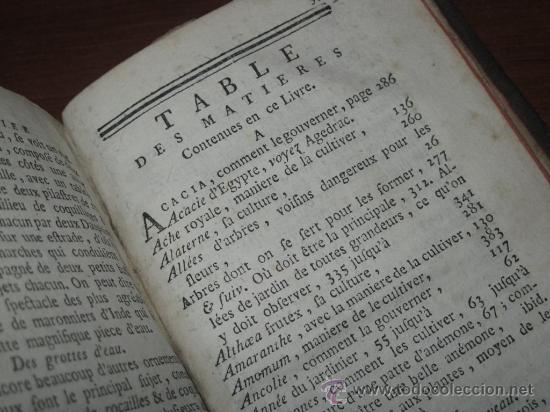 Libros antiguos: Le jardinier fleuriste, Liger, 1787. Contine 12 grabados desplegables. - Foto 27 - 29413500