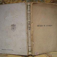 """Livros antigos: """"COSTUMBRES DE LOS INSECTOS"""" DE J. H. FABRE. 1ª EDICION 1.920.. Lote 29541060"""
