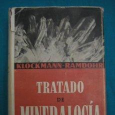 Libros antiguos: TRATADO DE MINEROLOGIA. Lote 29591210