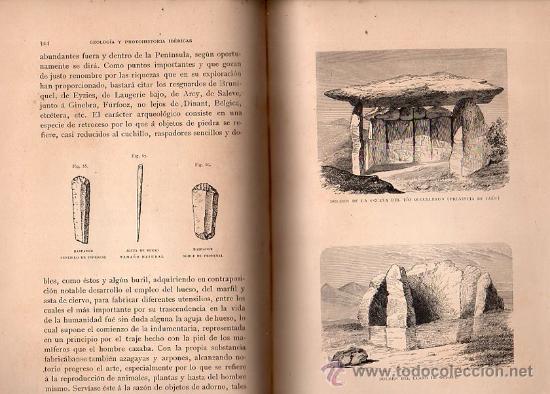 Libros antiguos: GEOLOGÍA Y PROTOHISTORIA IBÉRICAS, JUAN VILANOVA Y PIERA, JUAN DE DIOS DE LA RADA Y DELGADO - Foto 4 - 29759207