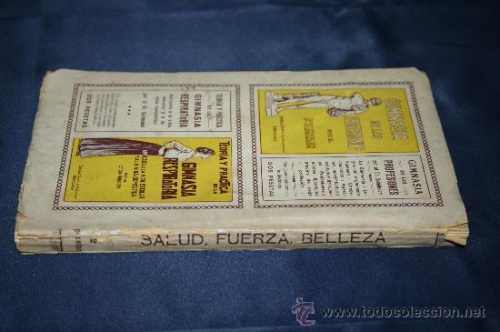 Libros antiguos: 0444- 'SALUD, FUERZA, BELLEZA POR MEDIO DE LA GIMNASIA SUECA' - DR. SAIMBRAUM - ED. PROF. ILUSTRADA - Foto 2 - 98513616