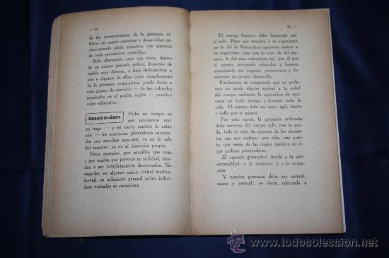 Libros antiguos: 0444- 'SALUD, FUERZA, BELLEZA POR MEDIO DE LA GIMNASIA SUECA' - DR. SAIMBRAUM - ED. PROF. ILUSTRADA - Foto 4 - 98513616