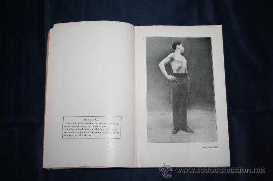 Libros antiguos: 0444- 'SALUD, FUERZA, BELLEZA POR MEDIO DE LA GIMNASIA SUECA' - DR. SAIMBRAUM - ED. PROF. ILUSTRADA - Foto 5 - 98513616