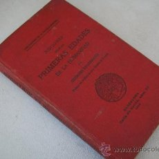 Libros antiguos: NOCIONES SOBRE LAS PRIMERAS EDADES DE LA HUMANIDAD-GEORGES ENGERRAND-1905-. Lote 30159197