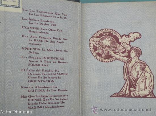 Libros antiguos: ANTIGUO LIBRO 2000 PROCEDIMIENTOS INDUSTRIALES AL ALCANCE DE TODOS - ANTONIO FORMOSO PERMUY - AÑO 19 - Foto 3 - 30342879