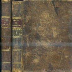 Libros antiguos: VALLEJO : TRATADO ELEMENTAL DE MATEMÁTICAS - DOS TOMOS (1821 / 1825). Lote 30709173