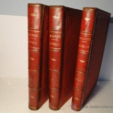 Libros antiguos: QUIMICA .INDUSTRIAL Y AGRÍCOLA. 3 TOMOS-OBRA COMPLETA- R. WAGNER. Lote 214086750