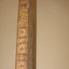 Libros antiguos: PROGRAMA DE UN CURSO DE ELEMENTOS DE HISTORIA NATURAL M. RAMOS Y LAFUENTE 1873. Lote 35936112