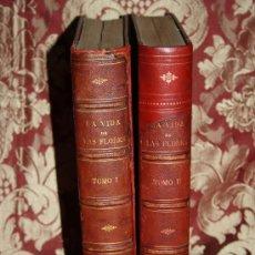 Libros antiguos: 1135- 'LA VIDA DE LAS FLORES' 2 TOMOS POR ALFONSO KARR Y TAXILE DELORD TRAD. Y AUMENTADA 1878 . Lote 31450399