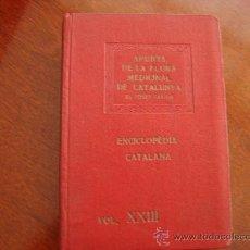 Libros antiguos: (361) APUNTS DE LA FLORA MEDICINAL DE CATALUNYA. Lote 31617776