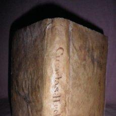 Libros antiguos: CUENTAS HECHAS·SACADAS DE LAS OBRAS DE BARREME - AÑO 1840 - PERGAMINO.. Lote 31951190