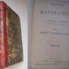 Livros antigos: TRATADO DE MATEMÁTICAS. TOMO 2 DEL TRATADO DE MATEMÁTICAS: GEOMETRÍA Y TRIGONOMETRÍA ELEMENTAL.. Lote 32357694