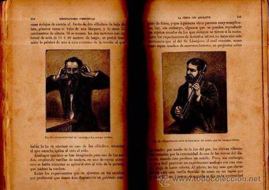 Libros antiguos: RECREACIONES CIENTÍFICAS O LA FÍSICA O LA QUÍMICA, GASTON TISSANDIER, MADRID BAILLY-BAILLIERE 1887 - Foto 5 - 116782940