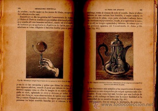 Libros antiguos: RECREACIONES CIENTÍFICAS O LA FÍSICA O LA QUÍMICA, GASTON TISSANDIER, MADRID BAILLY-BAILLIERE 1887 - Foto 3 - 116782940