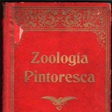 Libros antiguos: 1915 - ZOOLOGIA PINTORESCA - MIGUEL PONS FABREGUES - ILUSTRACIONES - 1ª EDICION. Lote 34119185