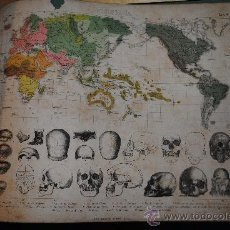 Libros antiguos: 188?.- LAMINAS DE ETNOGRAFIA. 41 LÁMINAS. IMPRIME EN MADRID GRAS Y COMPAÑIA. Lote 34294117