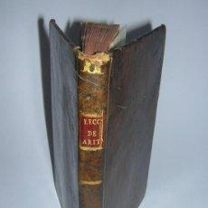 Libros antiguos: 1797 - ROMERO Y SERRANO - LECCIONES DE ARITMETICA PUESTAS EN FORMA DE DIALOGO PARA ESCUELAS. Lote 34558328