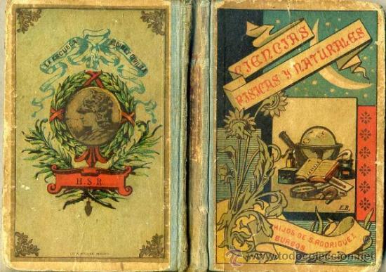 BENEJAM : PÁGINAS SOBRE CIENCIAS FÍSICAS Y NATURALES (HIJOS DE S. RODRÍGUEZ, BURGOS, 1900) (Libros Antiguos, Raros y Curiosos - Ciencias, Manuales y Oficios - Biología y Botánica)