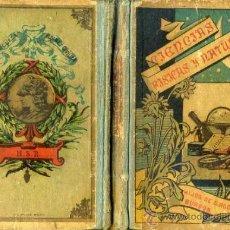 Libros antiguos: BENEJAM : PÁGINAS SOBRE CIENCIAS FÍSICAS Y NATURALES (HIJOS DE S. RODRÍGUEZ, BURGOS, 1900). Lote 34883453